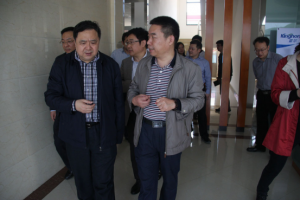 Warmly welcome Governor Xu to visit the kinghonor industrial park for guidance and work