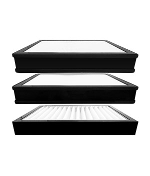 H9-series cabinet filter core set